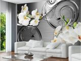 Silver orbs Wall Mural Wall Art Stickers for Wall Decor Living Room