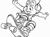 Simon the Chipmunk Coloring Pages Alvin and the Chipmunks Coloring Pages for Kids