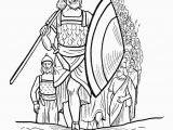Simple Bible Coloring Pages Joshua Bible Story Coloring Page