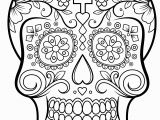 Simple Day Of the Dead Coloring Pages Dia De Los Muertos Day Of the Dead for Kids Dia De Los