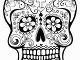 Simple Day Of the Dead Coloring Pages El Da De Los Muertos Day Of the Dead Coloring Page
