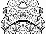 Simple Day Of the Dead Coloring Pages Get This Day Of the Dead Coloring Pages Line Printable