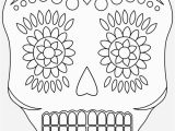 Simple Day Of the Dead Coloring Pages Sugar Skull 2 048 × 2 829 Pixlar Simple Day the Dead