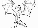 Simple Dragon Coloring Page Arkanian Dragon Star Wars Creatures
