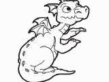 Simple Dragon Coloring Page Dragon Coloring Pages