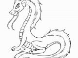 Simple Dragon Coloring Page Free Printable Dragon Coloring Pages for Kids