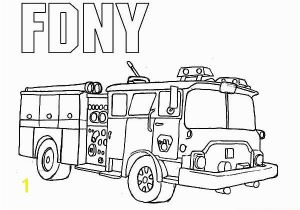 Simple Fire Truck Coloring Page Fire Truck Coloring Pages Coloring Pages