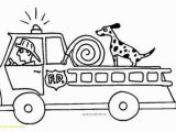 Simple Fire Truck Coloring Page Fire Truck Coloring Pages Sample thephotosync