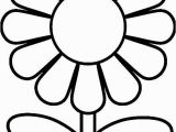 Simple Flower Coloring Pages Free Printable Preschool Coloring Pages
