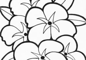 Simple Flower Coloring Pages Simple Flower Coloring Pages Coloring Flowers