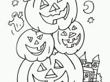 Simple Halloween Coloring Pages Pin On Colorings