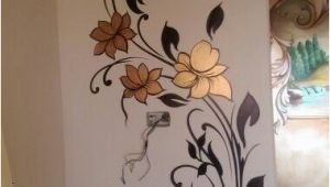 Simple Hand Painted Wall Murals مود رن