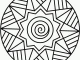 Simple Mandala Coloring Pages Printable Mandala Coloring Pages Printable Simple Mandalas Pinterest Free for