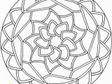 Simple Mandala Coloring Pages Printable Simple Mandala Coloring Pages 01 Mándalas Pinterest