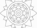 Simple Mandala Coloring Pages Printable Simple Mandala Coloring Pages Abstract Coloring Pages Bunch Ideas