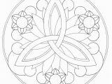 Simple Mandala Coloring Pages Printable Simple Mandala Flower Coloring Pages Coloring Pages