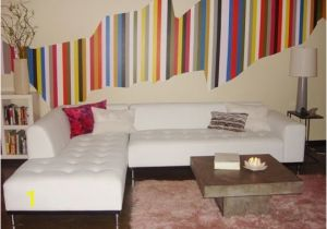 Simple Painted Wall Murals Christina S Colorful Stripe Diy Wall Mural