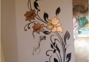 Simple Painted Wall Murals مود رن