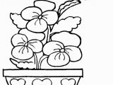 Simple Spring Coloring Pages Printable Color Sheets for Spring 8102