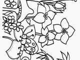 Simple Spring Coloring Pages Printable Flower Page Printable Coloring Sheets