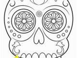 Simple Sugar Skull Coloring Pages 15 Best Sugar Skull Coloring Pages Images