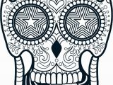 Simple Sugar Skull Coloring Pages Coloring Adult Sugar Skull Coloring Pages Candy Sheet Free