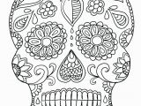 Simple Sugar Skull Coloring Pages Coloring Book Free Adulte Coloring Pages Lagunapaper Co