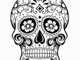 Simple Sugar Skull Coloring Pages Skull Coloring Pages for Adults – Sunbeltsheet