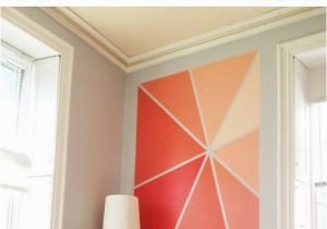 Simple Wall Mural Designs 20 Diy Painting Ideas for Wall Art Accent Walls Pinterest