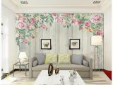 Simple Wall Mural Paintings Us $11 79 Off Custom 3d Wallpaper for Walls 3 D Wall Mural Wallpaper nordic Simple Striped Hand Painted Roses Tv Background Wall Bedroom Decor In