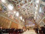 Sistine Chapel Wall Mural See Beautiful Art Inside the Sistine Chapel