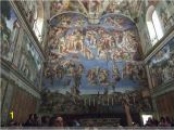 Sistine Chapel Wall Mural Vatican Museums Travel Guidebook –must Visit attractions In