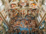 Sistine Chapel Wall Mural where to See Michelangelo S Art In Rome