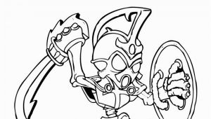 Skylander Coloring Pages Chop Chop 41 Best Coloring Images