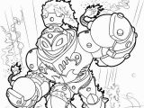 Skylanders Swap force Coloring Pages Blast Zone Blastzone