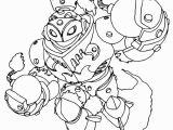 Skylanders Swap force Coloring Pages Blast Zone Skylanders Swap force Blast Zone Holding His S