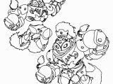 Skylanders Swap force Coloring Pages Blast Zone Skylanders Swap force the Powerful Blast Zone