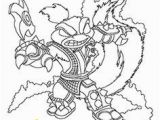 Skylanders Swap force Coloring Pages Stink Bomb 120 Best Colouring Pages Images