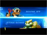 Skylanders Swap force Coloring Pages Stink Bomb Skylanders Swap force Afdruk Play Skylanders Line Games