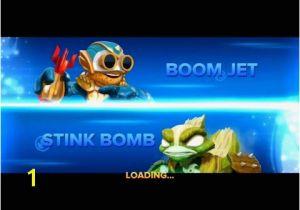 Skylanders Swap force Coloring Pages Stink Bomb Skylanders Swap force Afdruk Play Skylanders Line Games