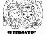 Sleepover Coloring Pages to Print Dragons to Color