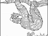Sloth Coloring Pages for Kids Printable Coloring Page Adult Coloring Page Animal Coloring Page for Adults Coloring Pages for Adults Sloth