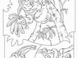 Sloth Coloring Pages for Kids Sloth Coloring Pages