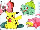 Slowpoke Coloring Pages Pokemon Pikachu Coloring Pages Pichu Slowpoke Bulbasaur Vivillon