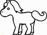 Small Horse Coloring Pages Pony Coloring Pages