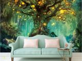 Small Size Wall Murals Beautiful Dream 3d Wallpapers forest 3d Wallpaper Murals Home