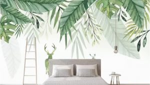 Small Size Wall Murals Beibehang Custom Any Size 3d Wall Mural Wallpaper Small Fresh Elk