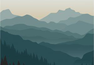 Smoky Mountain Wall Murals Mountain Wall Mural Self Adhesive