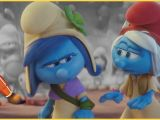 Smurf Movie Coloring Pages Smurfstorm and Smurfwillow Smurfs Movie Kids Coloring Book