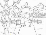 Snow Coloring Pages for toddlers 71 Best Snowman Coloring Pages Images